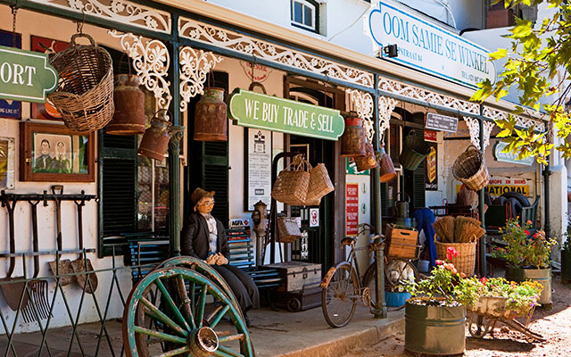 Shopping i Stellenbosch under longstay sydafrika | Sunbirdie